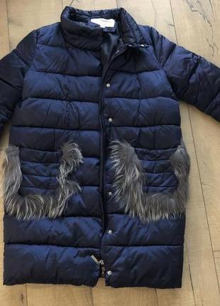 Зимова тепла курточка оверсайз1