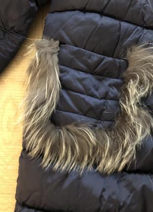 Зимова тепла курточка оверсайз2