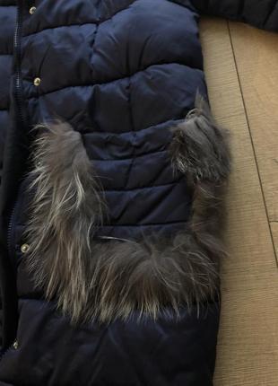 Зимова тепла курточка оверсайз3