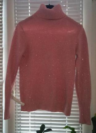 Нежный свитер с люриксом1