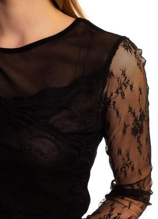Блуза с тонким кружевом. очень красивая1