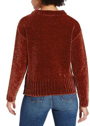 Бархатный свитер оверсайз4