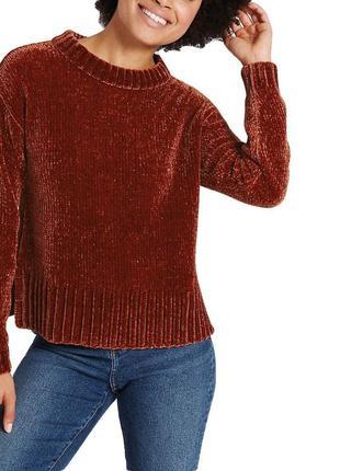 Бархатный свитер оверсайз3