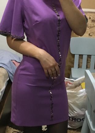Платье серень3