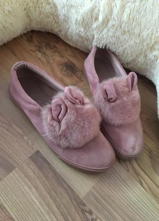 Модные кеды зайчик