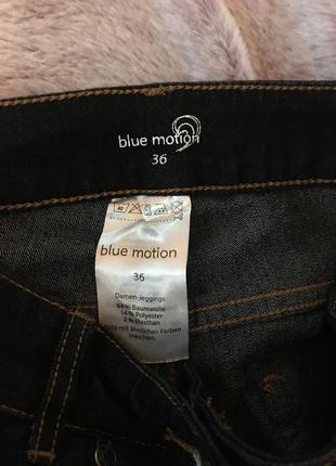 Тёмно синие джинсы4