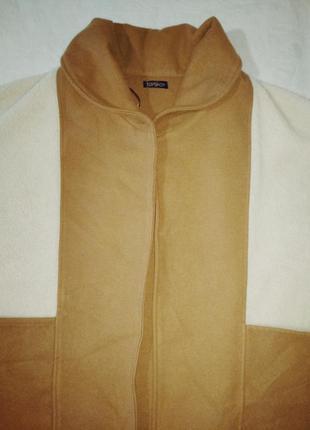 Пончо накидка с карманами жилет безрукавка2 фото