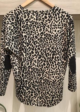 Кофта леопардовая тигровая4