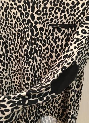Кофта леопардовая тигровая2