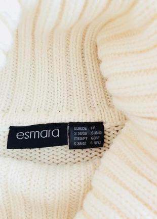 Красивый вязаный пуловер esmara евро 36-383