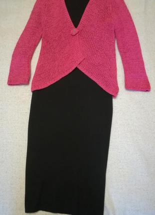 Шерстяное платье итальянской фирмы monari. размер – l2 фото