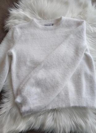 Кофта свитер bershka травка с широкими рукавами s-m4