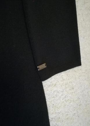 Шерстяное платье итальянской фирмы monari. размер – l4 фото