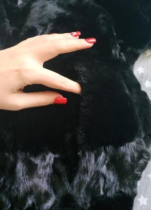 Шубка шуба норковая мутоновая норка мутон5