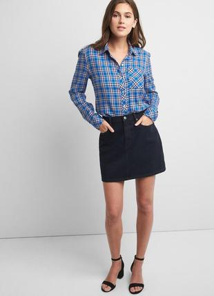 Фланелевая рубашка gap, размер м2 фото