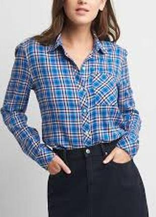 Фланелевая рубашка gap, размер м