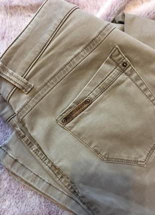 Бежевые джинсы zerres jeans