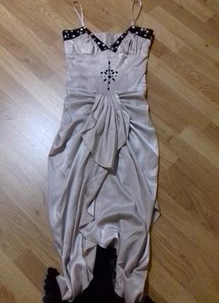 Супер нарядное длинное  платье/ плаття нарядне1 фото