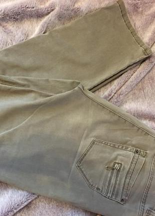 Бежевые джинсы zerres jeans3 фото