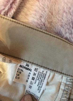Бежевые джинсы zerres jeans5 фото