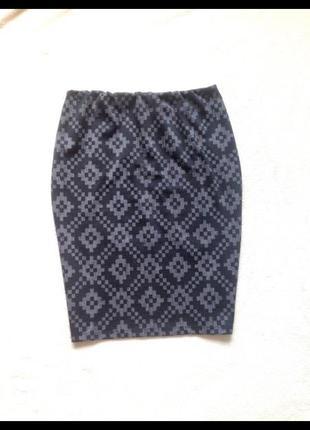 Теплая юбка карандаш от tu terranova1