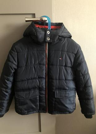 Зимова куртка tommy hilfiger на хлопчика 7 років