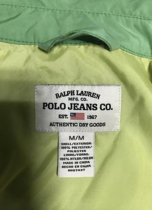 Ветровка куртка фирменная оригинал ralph lauren размер м5