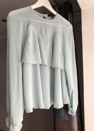 Блуза с рюшами романтическая стильная5