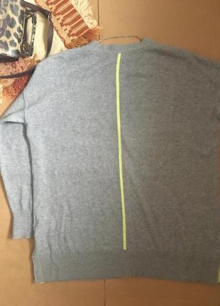 Серый кардиган из альпаки, шерсти и вискозы fenn wright mason studio3