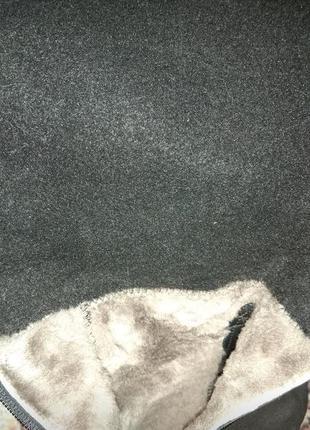 Зимние сапоги из натурального замша4