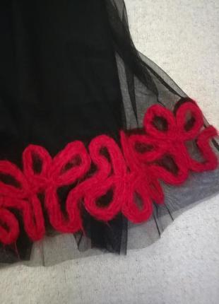 Нарядная юбка датской фирмы noa noa , размер xl3 фото