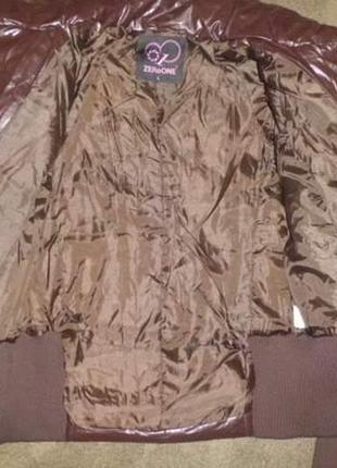 Шикарная куртка 44-46 наш новая4