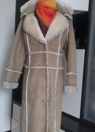 Пальто/ дубленка2 фото