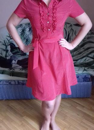 Платтячко в горошок1 фото