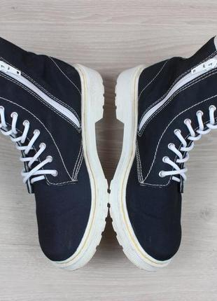 Синие женские ботинки dr.martens оригинал, размер 363
