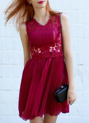 Нереально красивое вечернее платье с кружевом!4