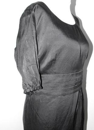 Красивенное платье с открытой спинкой5