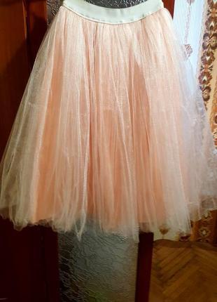 Фатиновая юбка4