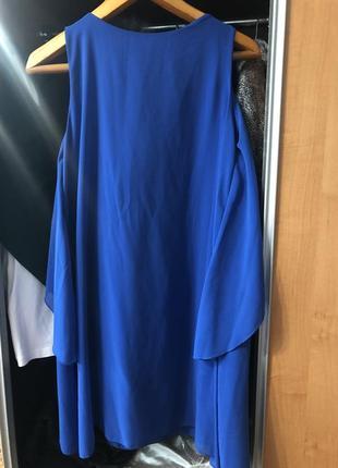 Платтячко насичено-синього кольору💜2