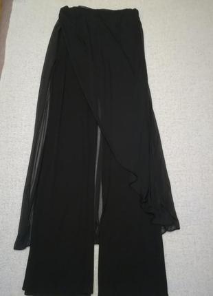 Нарядные брюки с юбкой французского бренда orna farno, размер eur – 424