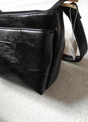 Сумка маленькая клатч клач черная2 фото