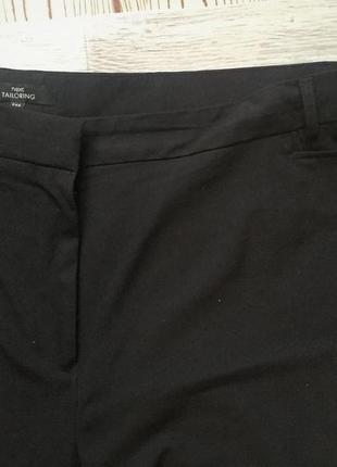 Фирменные зауженные брюки большого размера 54-602