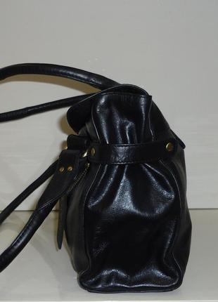 Стильная кожаная сумка f&f2