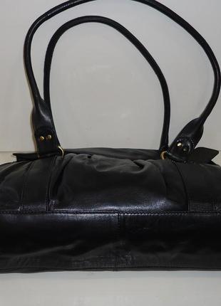 Стильная кожаная сумка f&f3
