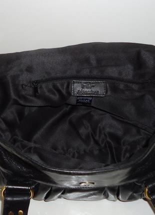 Стильная кожаная сумка f&f5