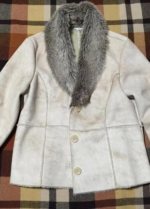 Невероятная теплая меховая курточка1