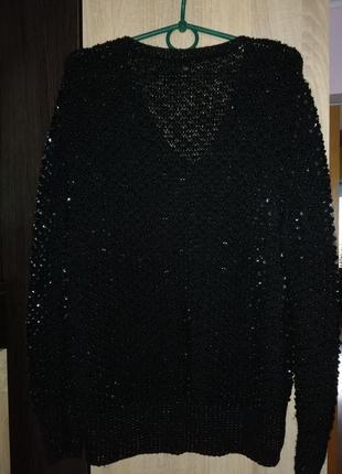 Кофта, свитер, паетки с бисером2