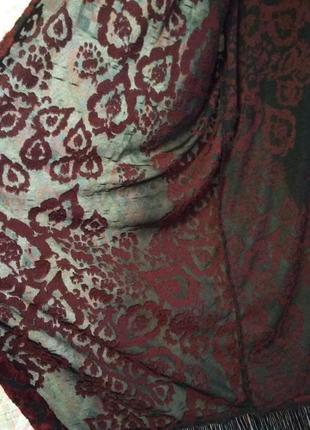 Кардиган , пляжная накидка , накидка с с бахромой , кимоно м, l, xl4
