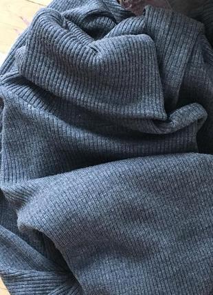 Крута тепла сукня в рубчик (чулок)4