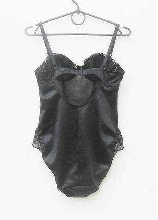 Черное сексуальное эротические кружевное боди  34a 75a5